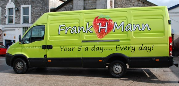 Look out for our vans around the South West!!